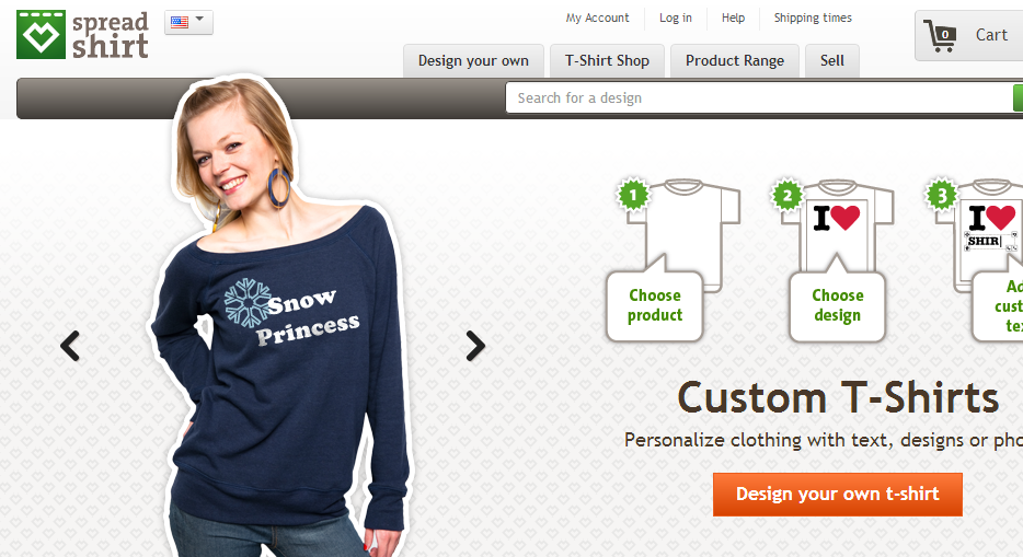 The best websites for t shirt design for Websites to create shirts