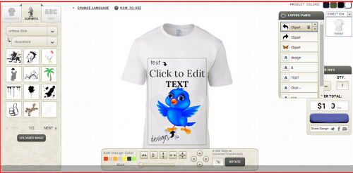 Online Product Designer Tool